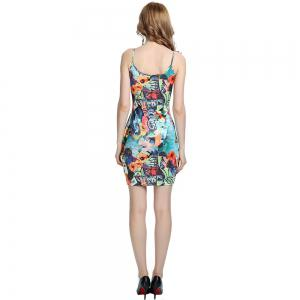 Womens Pencil Sexy Bodycon Stretch Summer Party Evening Mini Dresses -