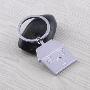 House Keychain Metal Key Ring Creative Gift -