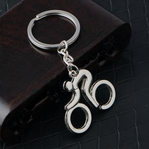 Bicycle Keychain Metal Key Ring Creative Gift -