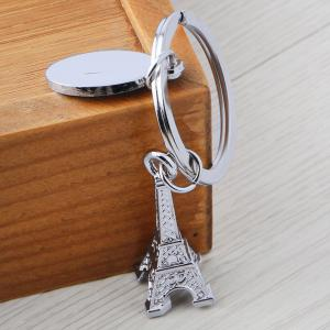 Eiffel Tower Keychain Metal Key Ring Creative Gift -