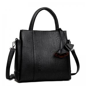 Soft Leather Contracted Joker Messenger Bag -