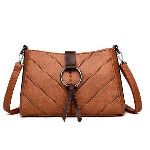 New Soft Leather Middle-aged Mother Messenger Bag