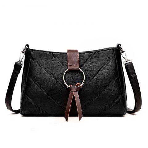 Discount Soft Leather Middle-aged Mother Messenger Bag