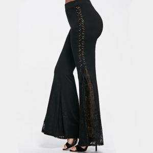 2018 New Punk Lace Pants Pantalons -