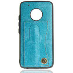 Case Cover for MOTO G5 Plus Luxury PU Leather with Stand and Card Slots -