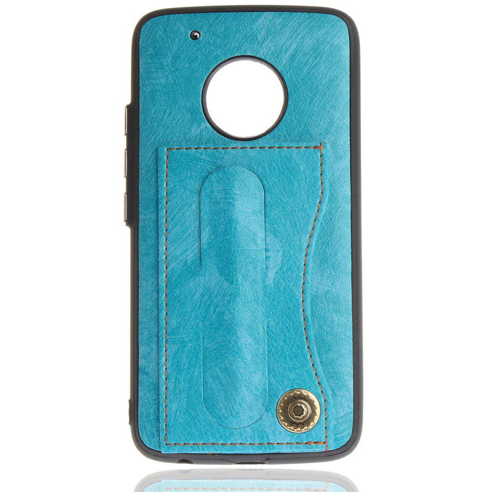 New Case Cover for MOTO G5 Plus Luxury PU Leather with Stand and Card Slots