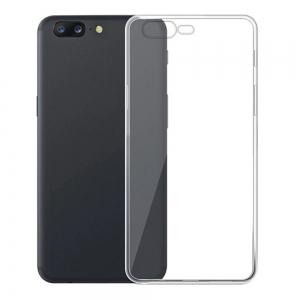 Ultra-Thin Tpu Back Cover Case for Oneplus 5 - Transparent -