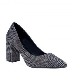 Shallowly Stylish and Sexy Lattices with Women's Single Shoes -