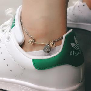 2018 Simple Wild Dumbbell Chain Anklets Fashion Bohemian Beach Accessories -