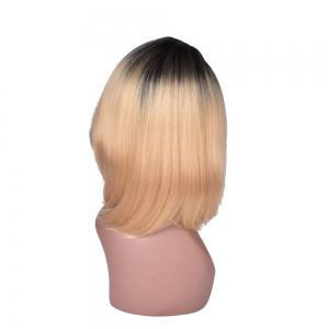 Hairyougo T5002A Medium Length Bobo Style Synthetic High Temperature Fiber Wig -