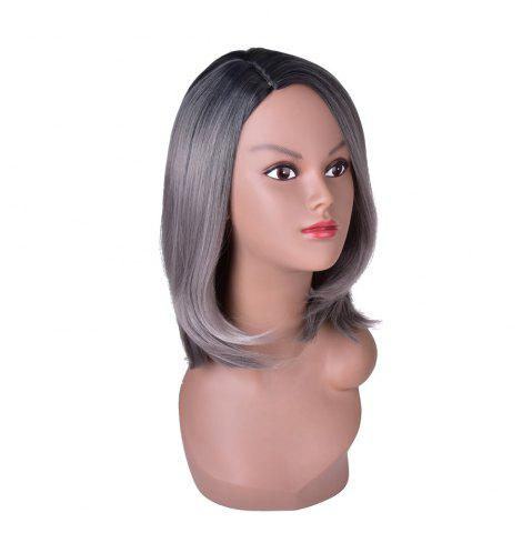 Latest Hairyougo T5002A Medium Length Bobo Style Synthetic High Temperature Fiber Wig