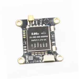 Micro 48CH 5.8G 25MW/100mW/200mW/400mW/600MW Switchable FPV RC Drone Transmitter Module with OSD SBUS Control -