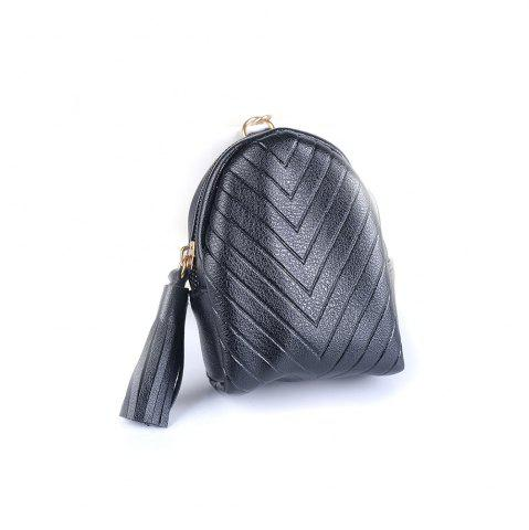 Affordable Beautiful Small Backpack Pendant Leather Tassel Purse Car Key Ring
