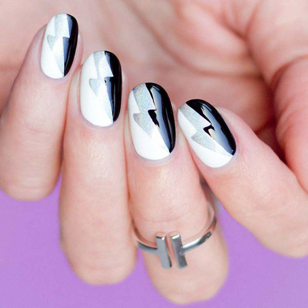 2018 Newartist Elegant Fall Winter Nail Art Fashion Design Gray Blue