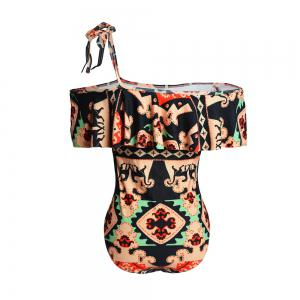 Fashion Bikini One-Piece Swimsuit Cloak Print Models -