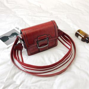 New Female Korean Shoulder Bag Crossbody Strap Width Small All-match Tide -