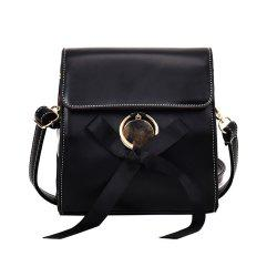 The New Version of All-match Shoulder  Bag  Fashion Square Wave -