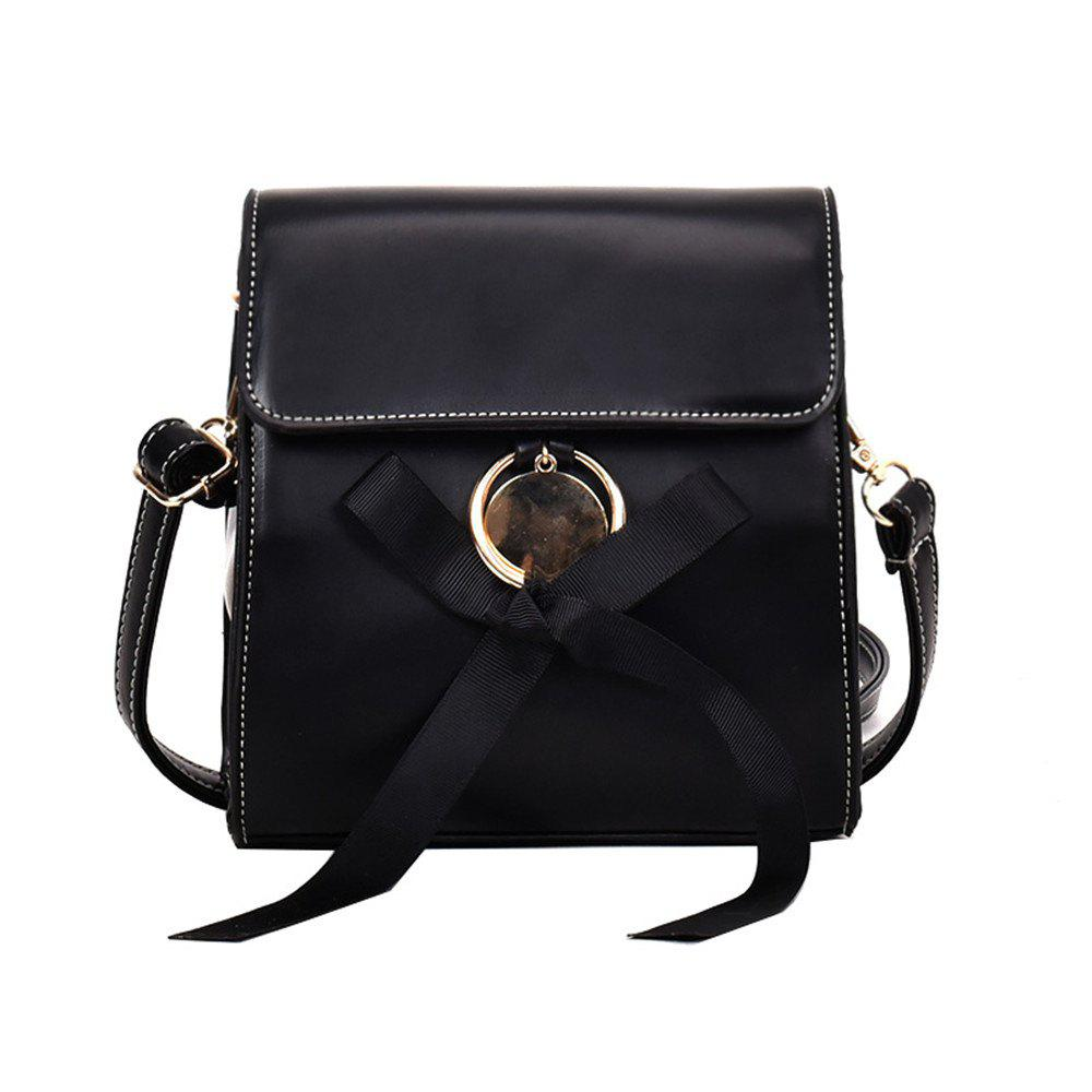 Новая версия All-Match Shoulder Bag Fashion Square Wave