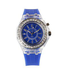 Geneva Fashion Trendy Shiny Ladies Watch -