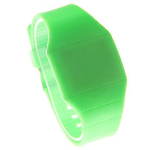 Fashion LED Silicone Electronic Ultra-Thin Touch Screen Watch