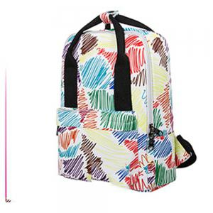 Kid's Bag Colorful hand Painted Pattern Portable Casual Travel Computer Bag -