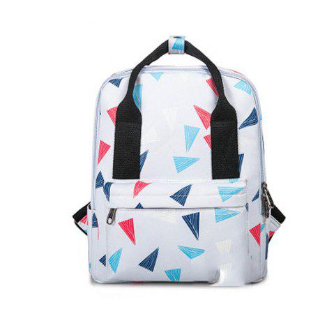 Online Kid's Bag Colorful hand Painted Pattern Portable Casual Travel Computer Bag