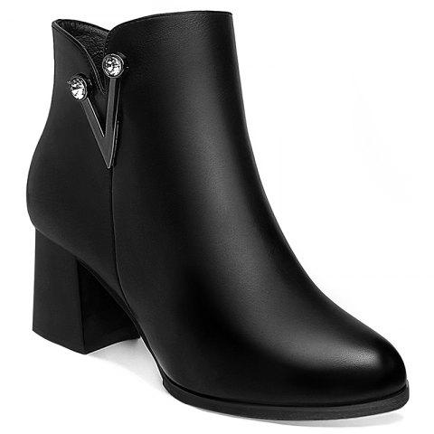 Affordable With A Velvet and Short Martin Boots