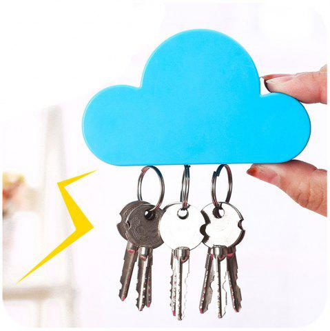 Unique Cloud Shape Magnetic Magnets Wall Key Holder Powerful Storage Tool