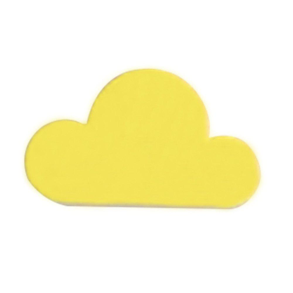 Yellow Cloud Shape Magnetic Magnets Wall Key Holder Powerful Storage ...