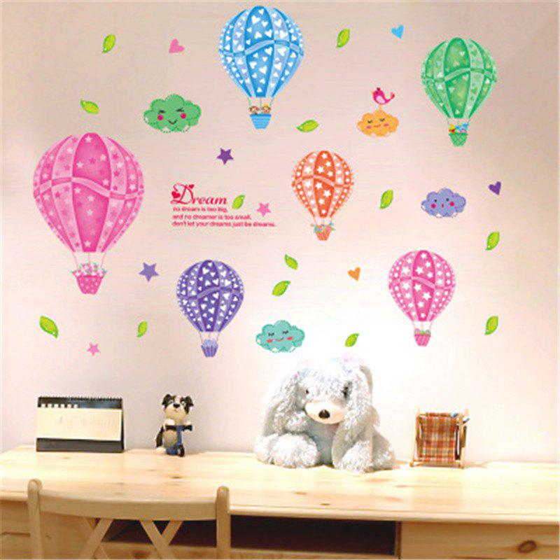 35% OFF] New Style Colorful Cloud Balloons Children\'S Bedroom ...