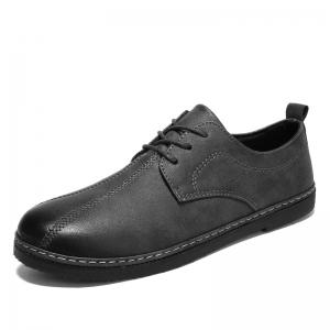 Spring Retro Style Leisure Leather Shoes -