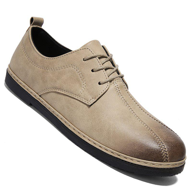 Sale Spring Retro Style Leisure Leather Shoes