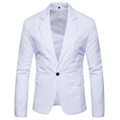 Latest Men Spring Turndown Collar Long Sleeve Suit