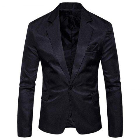 Affordable Men Spring Turndown Collar Long Sleeve Suit