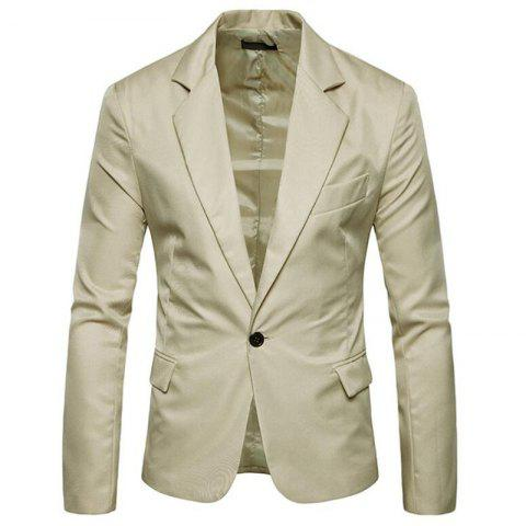 Shops Men Spring Turndown Collar Long Sleeve Suit
