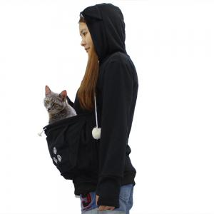Women Stylish Hoodie with Big Kangaroo Pocket -