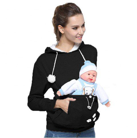 Discount Women Stylish Hoodie with Big Kangaroo Pocket