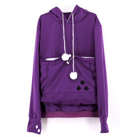 Affordable Women Stylish Hoodie with Big Kangaroo Pocket