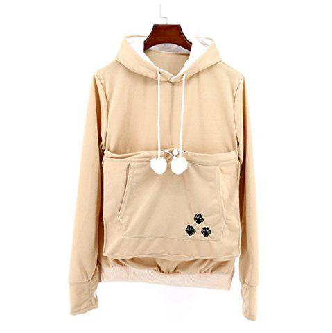 Fancy Women Stylish Hoodie with Big Kangaroo Pocket