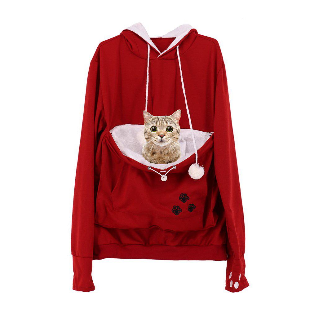 Shops Women Stylish Hoodie with Big Kangaroo Pocket