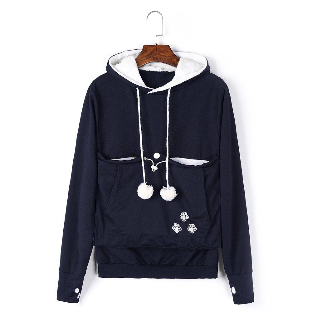 Buy Women Stylish Hoodie with Big Kangaroo Pocket