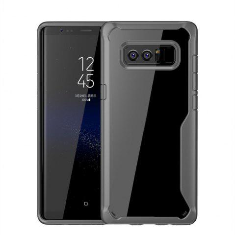 Hot Cover Case for Samsung Galaxy Note 8 Slim Transparent PC+TPU Silicone
