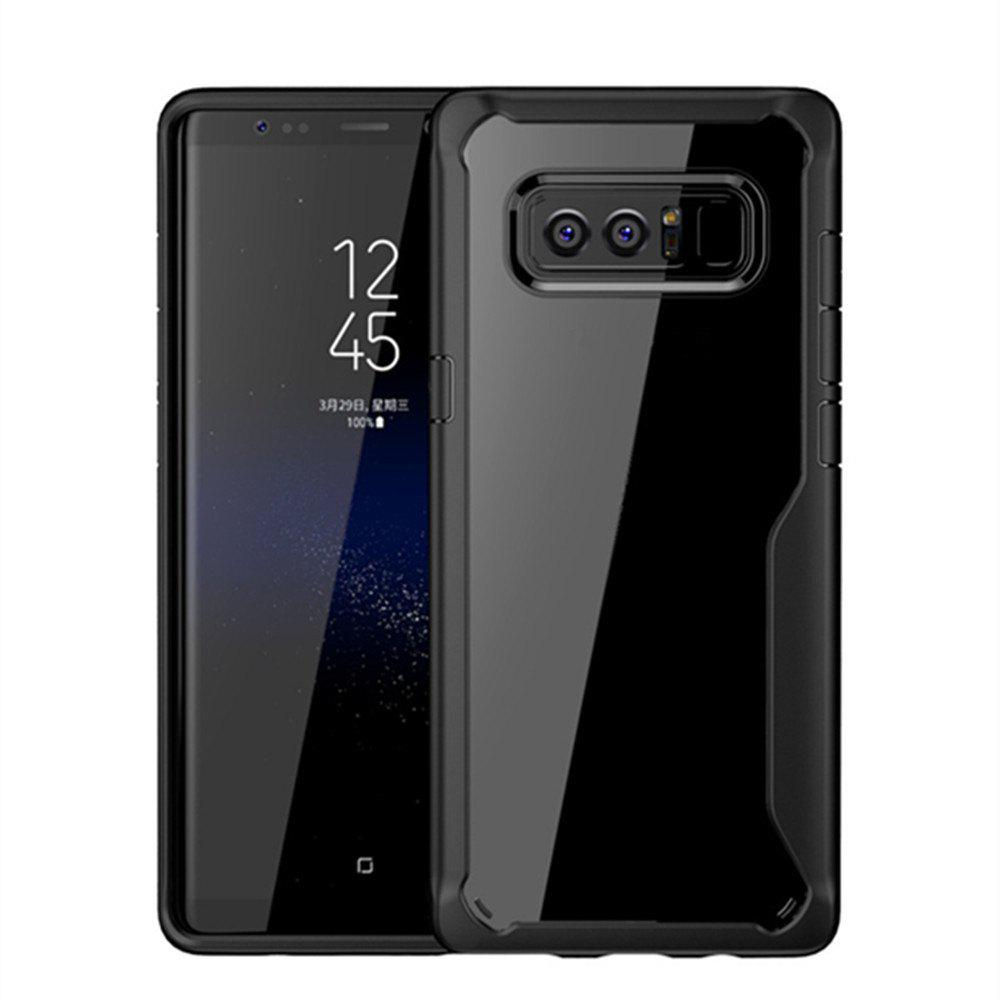 Housse de protection pour Samsung Galaxy Note 8 Slim Transparent PC + TPU Silicone