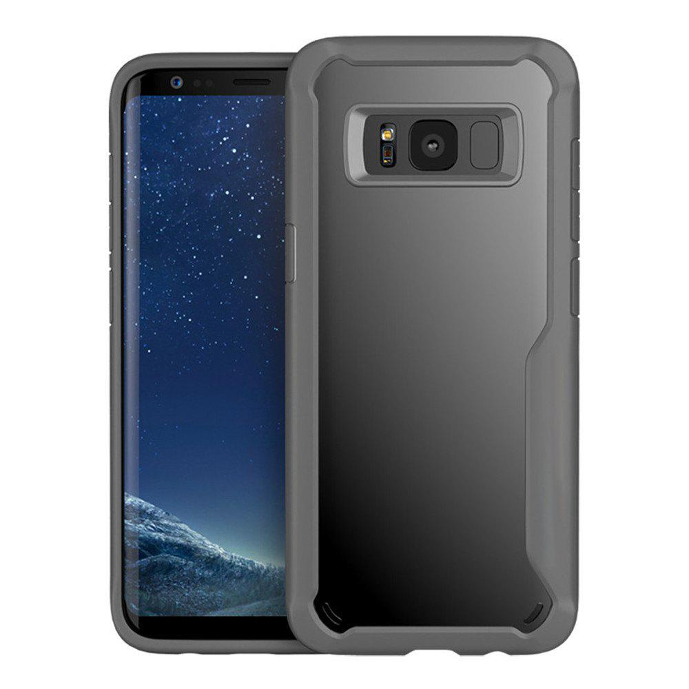 Housse de protection pour Samsung Galaxy S8 Slim Transparent PC + TPU Silicone