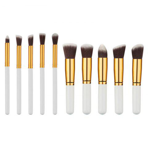 KESMALL CO431 pinceaux de maquillage professionnel Set 10pcs