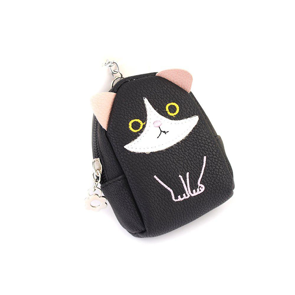 Mini sac à main pendentif Creative Kitty voiture Keychain exquis sac sangle