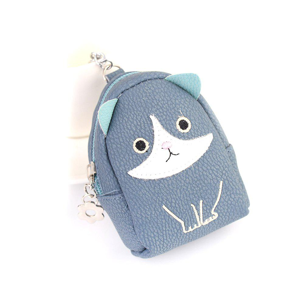 Trendy Mini Purse Pendant Creative Kitty Car Keychain Exquisite Bag Strap