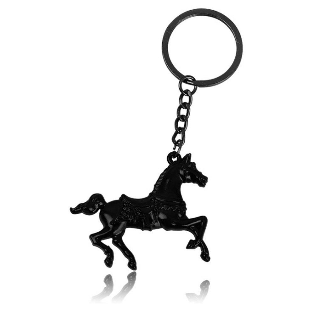 Outfit Creative Men Horse Strap Keychain