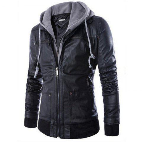 Online All-Match Slim Hooded Jacket
