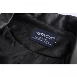 Lapel Cable-Stayed Repair and Leisure Chain Coat -
